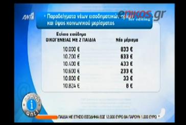 ΒΙΝΤΕΟ-Κοινωνικό μέρισμα… 8 ευρώ