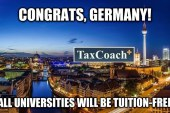 Τα γερμανικά πανεπιστήμια είναι πλέον δωρεάν από πλευράς διδάκτρων