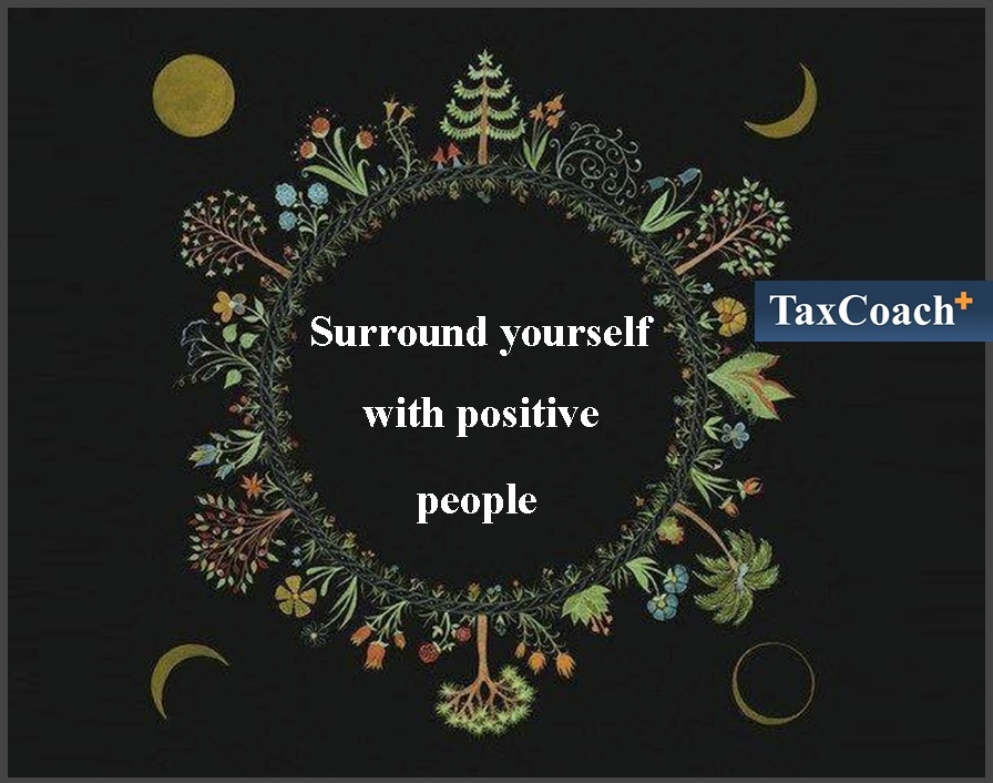 Find the Magic and Balance Within: Surround yourself with positive people!