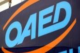 ΟΑΕΔ: Την Παρασκευή ξεκινούν οι αιτήσεις για το νέο πρόγραμμα επιδοτούμενων νέων θέσεων εργασίας για 2.000 ανέργους 30 ετών και άνω στην Αττική και στο Ν. Αιγαίο