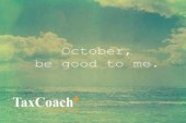 October, be good to me !