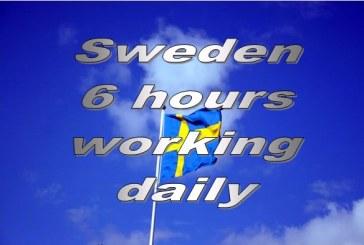 Κερδίζει 'έδαφος' η 6ωρη εργασία τη Σουηδία