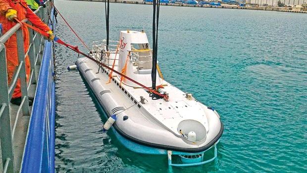 Το πρώτο Τουρκικό Τουριστικό Υποβρύχιο