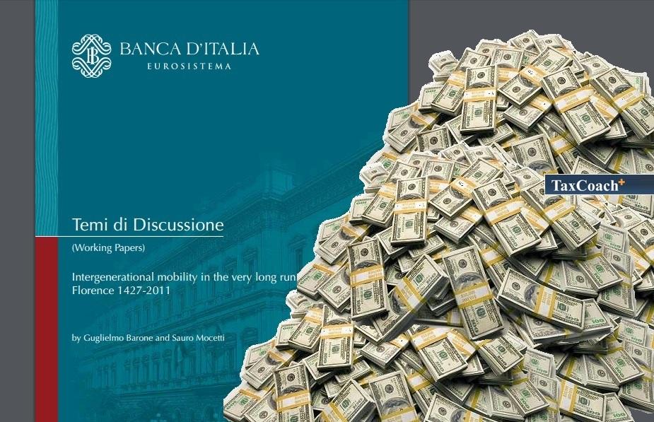 Έρευνα: Οι πλουσιότερες οικογένειες στην Φλωρεντία έχουν διατηρήσει τον πλούτο τους για σχεδόν 600 χρόνια