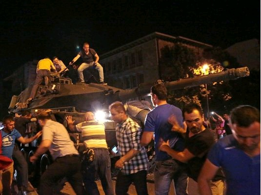Περί του Πραξικοπήματος στην Τουρκία