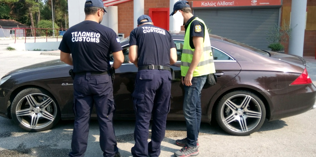 Δέσμευση αυτοκινήτων με ξένες πινακίδες, από τα Τελωνεία, μετά από Ελέγχους