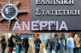 ΕΛΣΤΑΤ: Περαιτέρω υποχώρηση της Ανεργίας τον Μάιο του 2018