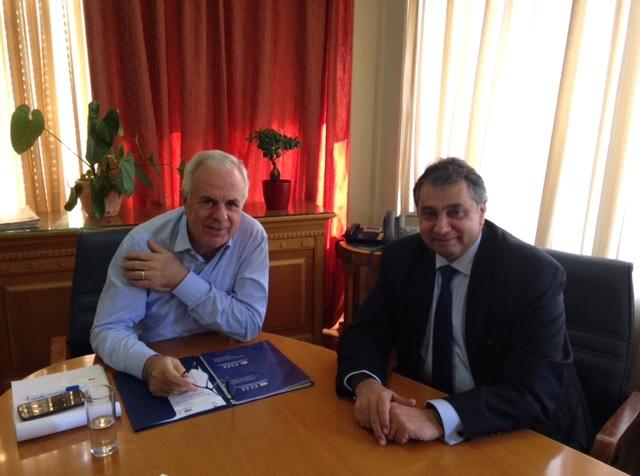 Συνάντηση ΕΣΕΕ με Υπουργό Αγροτικής Ανάπτυξης και Τροφίμων κ. Eυάγγελο Αποστόλου