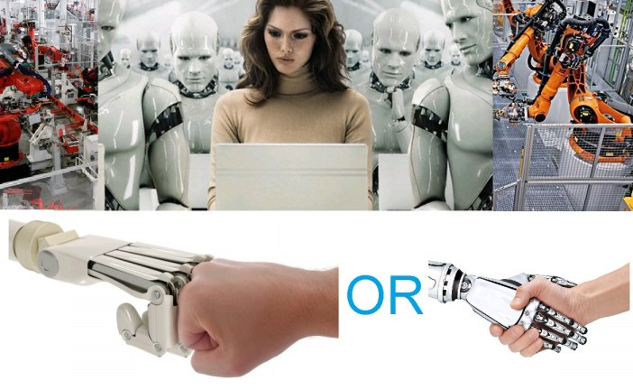 Robots 'steal' our jobs. What you gonna do?