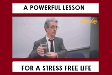Ένα ισχυρό μάθημα περί του Άγχους – (βίντεο)