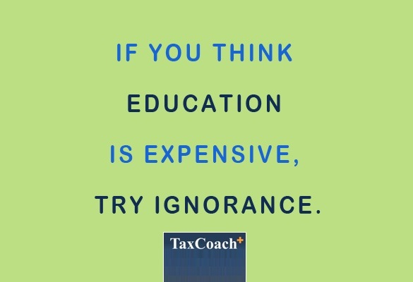 If you think education is expensive, try ignorance