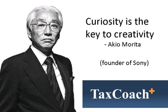 Curiosity is key to Creativity