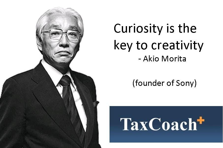 Curiosity is key to Creativity