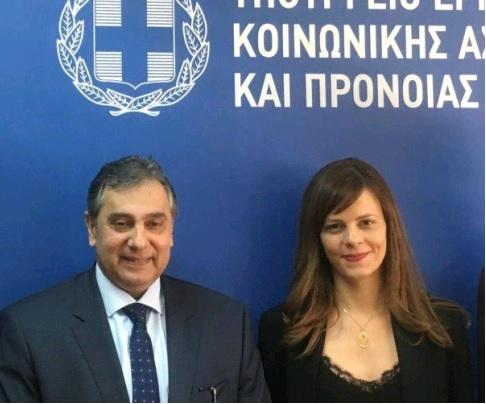 Συνάντηση ΕΣΕΕ με την Υπουργό Εργασίας κα Αχτσιόγλου: Τα εκκρεμή εργασιακά θέματα απαιτούν σύνεση και συναίνεση