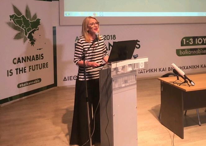 Χαιρετισμός της Περιφερειάρχη Αττικής στη Balkannabis Expo 2018