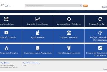 Σε λειτουργία η πύλη ανοικτών δεδομένων – open data portal, της Τράπεζας της Ελλάδος