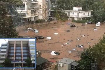 Περιφέρεια Αττικής: Σχετικά με τη πλημμύρα σε παράνομο πάρκινγκ στο Μαρούσι