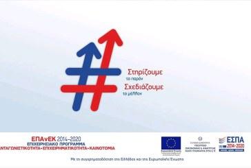 Παράταση του χρόνου υλοποίησης και υποβολής αιτήματος πληρωμής για τη Δράση «Αναβάθμιση πολύ μικρών & μικρών επιχειρήσεων για την ανάπτυξη των ικανοτήτων τους στις νέες αγορές»