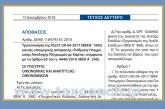 ΔΕΑΦ 1184793 ΕΞ 2018: Απόφαση παράτασης δήλωσης των επαγγελματικών λογαριασμών