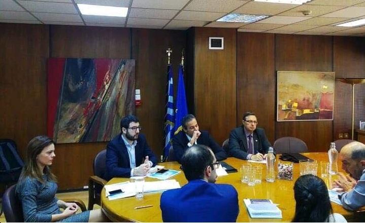 ΥΠΕΚΑΚΑ: Συνάντηση με Εμπορικό Σύλλογο Αθηνών για τη δημιουργία Στέγης Ελληνικής Επιχειρηματικότητας