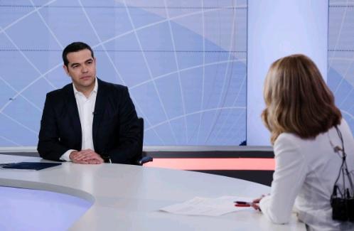 Σημεία από την συνέντευξη του Αλ. Τσίπρα στο OPEN TV