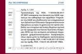 Α. 1204/19: Τροποποίηση Απόφασης του Διοικητή της ΑΑΔΕ, σχετικά με τον καθορισμό των αρμόδιων Υπηρεσιών της ΑΑΔΕ και εξειδίκευση των υποχρεώσεων των Δηλούντων Ελληνικών Χρηματοπιστωτικών Ιδρυμάτων, ως προς το χρόνο και τον τρόπο υποβολής των στοιχείων και …