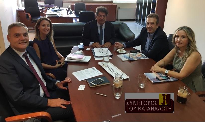 Συνάντηση του Συνηγόρου του Καταναλωτή, με την ηγεσία της ΕΣΕΕ