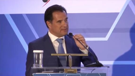 Ομιλία του Υπουργού Ανάπτυξης και Επενδύσεων, κ. Άδωνι Γεωργιάδη σε εκδήλωση του Οργανισμού Βιομηχανικής Ιδιοκτησίας (OBI)