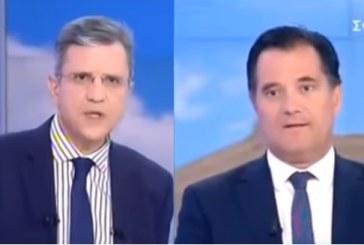Σημεία Συνέντευξης Άδωνι Γεωργιάδη, στην τηλεόραση του ΣΚΑΙ και τον δημοσιογράφο, κ. Γιώργο Αυτιά