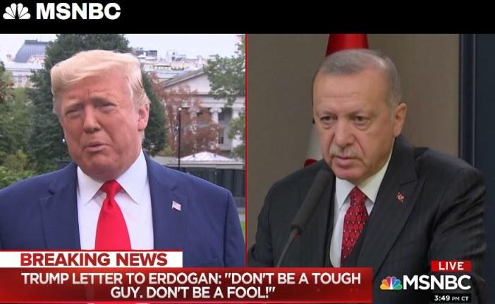 Η απίστευτη Επιστολή του Τραμπ στον Ερντογάν