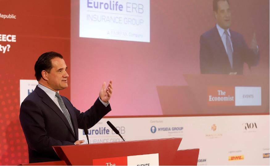 Ομιλία Άδωνι Γεωργιάδη, στο συνέδριο του Economist σε συνεργασία με την «HOPE genesis»: «The demographic crisis in Greece»