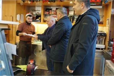 Υγειονομικούς και αγορανομικούς ελέγχους σε καταστήματα στην περιοχή του Αγίου Παντελεήμονα πραγματοποίησαν κλιμάκια της Περιφέρειας Αττικής