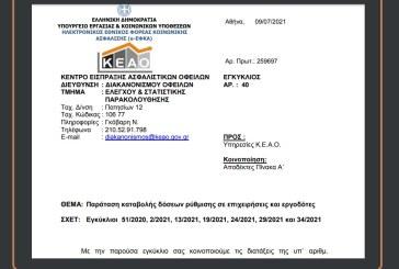 ΕΦΚΑ/KEAO: Παράταση καταβολής δόσεων ρύθμισης σε επιχειρήσεις και εργοδότες